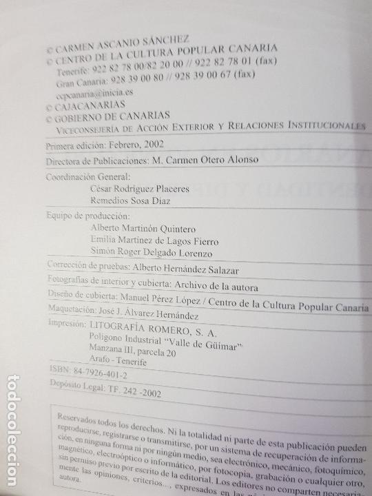 Libros: LOS CANARIOS EN VENEZUELA - CARMEN ASCANIO SÁNCHEZ - CENTRO DE LA CULT.POPULAR CANARIA- AÑO 2002 - Foto 2 - 144546862