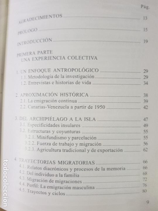 Libros: LOS CANARIOS EN VENEZUELA - CARMEN ASCANIO SÁNCHEZ - CENTRO DE LA CULT.POPULAR CANARIA- AÑO 2002 - Foto 3 - 144546862