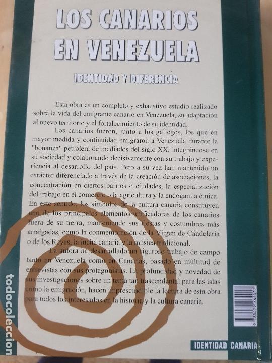 Libros: LOS CANARIOS EN VENEZUELA - CARMEN ASCANIO SÁNCHEZ - CENTRO DE LA CULT.POPULAR CANARIA- AÑO 2002 - Foto 10 - 144546862