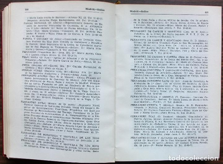 "Libros: ""HERÁLDICA"" GUIA DE SOCIEDAD, RECOPILADA POR E. GONZÁLEZ VERA. 1954 - Foto 7 - 146806950"