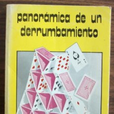 Libros: PANORAMICA DE UN DERRUMBAMIENTO. JOSE MARIA SANTACREU.. Lote 150292370