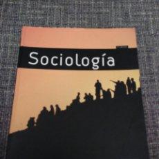 Libros: SOCIOLOGÍA PEARSON. Lote 154873298