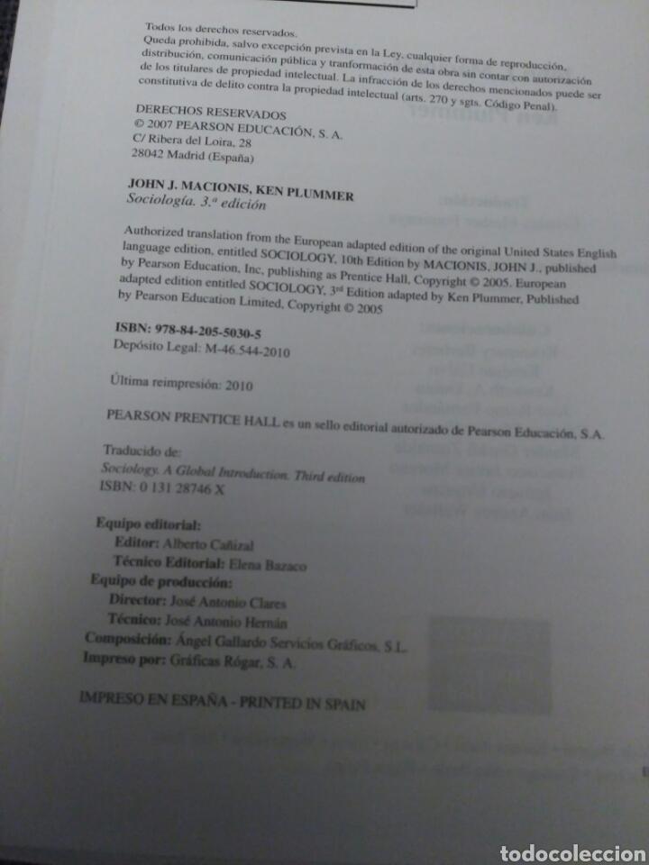 Libros: Sociología Pearson - Foto 3 - 154873298