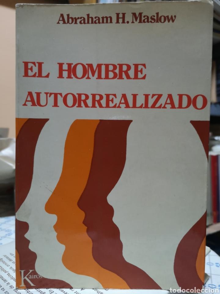 ABRAHAM H. MASLOW. EL HOMBRE AUTORREALIZADO. PORTADA NÚRIA POMPEIA, TRAD. RAMON RIBÉ. BARCELONA 1976 (Libros Nuevos - Humanidades - Sociología)