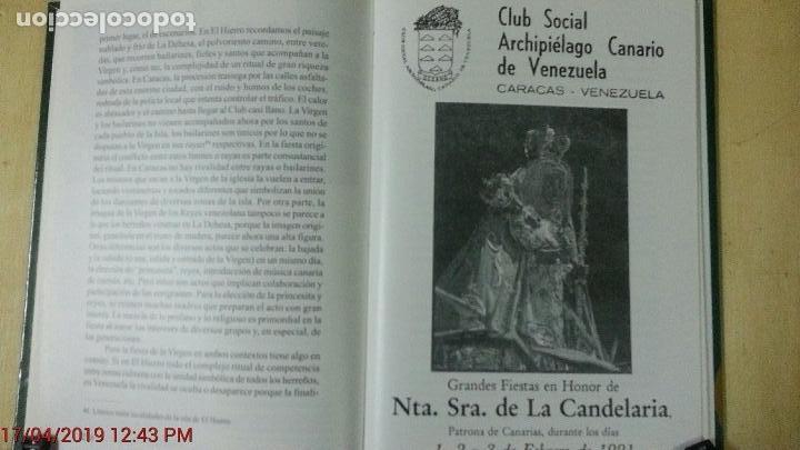 Libros: LOS CANARIOS EN VENEZUELA - CARMEN ASCANIO SÁNCHEZ - CENTRO DE LA CULT.POPULAR CANARIA- AÑO 2002 - Foto 8 - 144546862