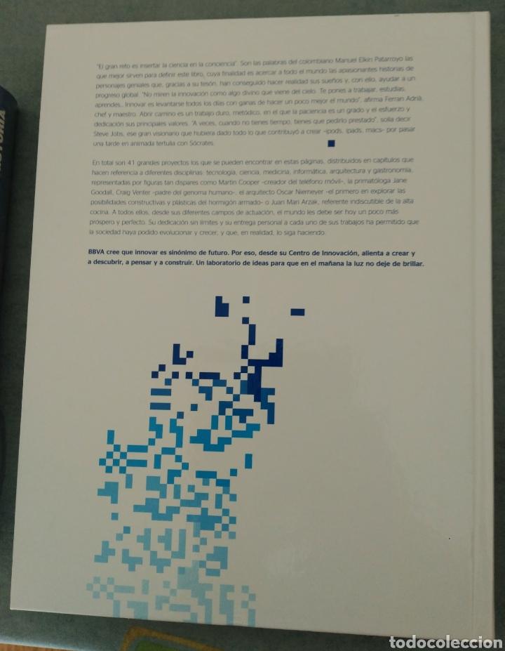 Libros: 40 + 1 Innovadores que han cambiado el mundo en el Siglo XXI. BBVA y Anaya - Foto 2 - 160468720