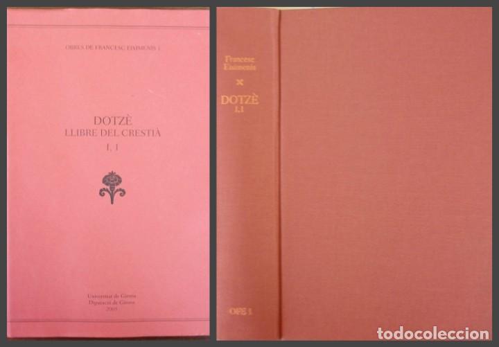 DOTZÈ LLIBRE DEL CRESTIÀ VOL 1 (UNIVERSIDAD DE GIRONA ) 2005 (Libros Nuevos - Humanidades - Sociología)