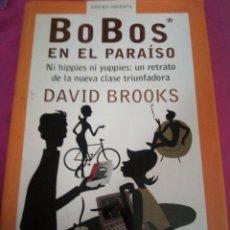 Libros: BOBOS EN EL PARAÍSO. Lote 171237703