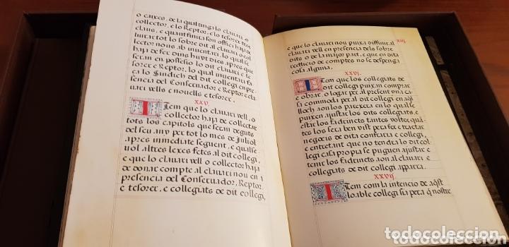 Libros: Ordenanzas del colegio Imperial de Niños Huerfanos de San Vicente Ferrer. - Foto 3 - 173059274