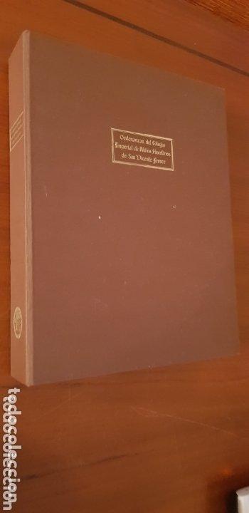 Libros: Ordenanzas del colegio Imperial de Niños Huerfanos de San Vicente Ferrer. - Foto 5 - 173059274