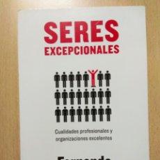 Libros: SERES EXCEPCIONALES. FERNANDO DE TRÍAS DE BES. Lote 178147089