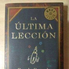 Libros: LA ÚLTIMA LECCIÓN. Lote 178242218