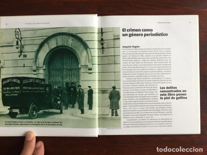 Libros: Barcelona en negro. Los sucesos que han conmocionado a los barceloneses. De la pena de muerte a viol - Foto 3 - 178897830