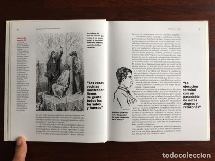 Libros: Barcelona en negro. Los sucesos que han conmocionado a los barceloneses. De la pena de muerte a viol - Foto 7 - 178897830