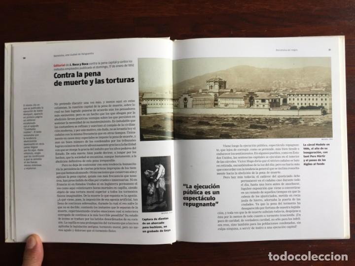 Libros: Barcelona en negro. Los sucesos que han conmocionado a los barceloneses. De la pena de muerte a viol - Foto 8 - 178897830
