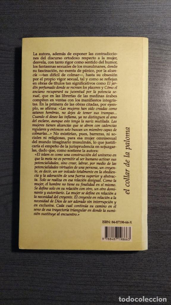 Libros: LA MUJER EN EL INCONSCIENTE MUSULMAN FATNA AIT SABBAH ORIENTE Y MEDITERRANEO - Foto 2 - 182304932