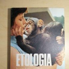 Libros: LIBRO ETOLOGÍA ( LA CONDUCTA ANIMAL, UN MODELO PARA EL HOMBRE). Lote 192251571