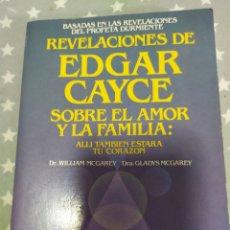 Libros: REVELACIONES DE EDGAR CAYCE. Lote 193342556