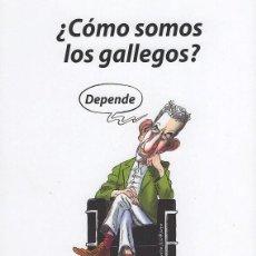 Libros: ¿CÓMO SOMOS LOS GALLEGOS?MANUEL GUISANDE.PUBLICACIONES ARENAS.PREMIO FERNANDO ARENAS QUINTELA 2017 . Lote 194949471