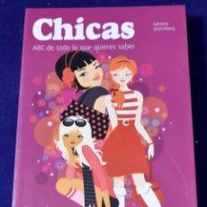 Libros: CHICAS: MANUAL PARA LAS CHICAS BUENAS. Y MALAS (MUY PERSONAL / RELACIONES) - ORTEMBERG, ADRIANA. Lote 203534818