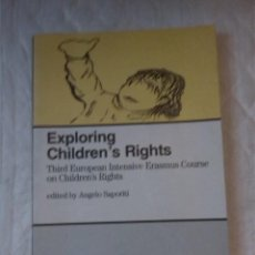 Libros: EXPLORING CHILDREN'S RIGHTS. 3RD EUROPEAN INTENSIVE ERASMUS COURSE OF CHILDREN'S RIGHTS. ANGELO. Lote 206410208
