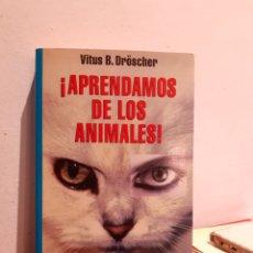 Libros: APERNDAMOS DE LOS ANIMALES. Lote 207083305