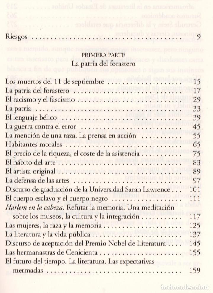Libros: TONI MORRISON LA FUENTE DE LA AUTOESTIMA ENSAYOS DISCURSOS MEDITACIONES E LUMEN 2020 1ª EDICIÓN FAJA - Foto 6 - 213572496