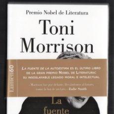 Libros: TONI MORRISON LA FUENTE DE LA AUTOESTIMA ENSAYOS DISCURSOS MEDITACIONES E LUMEN 2020 1ª EDICIÓN FAJA. Lote 213572496