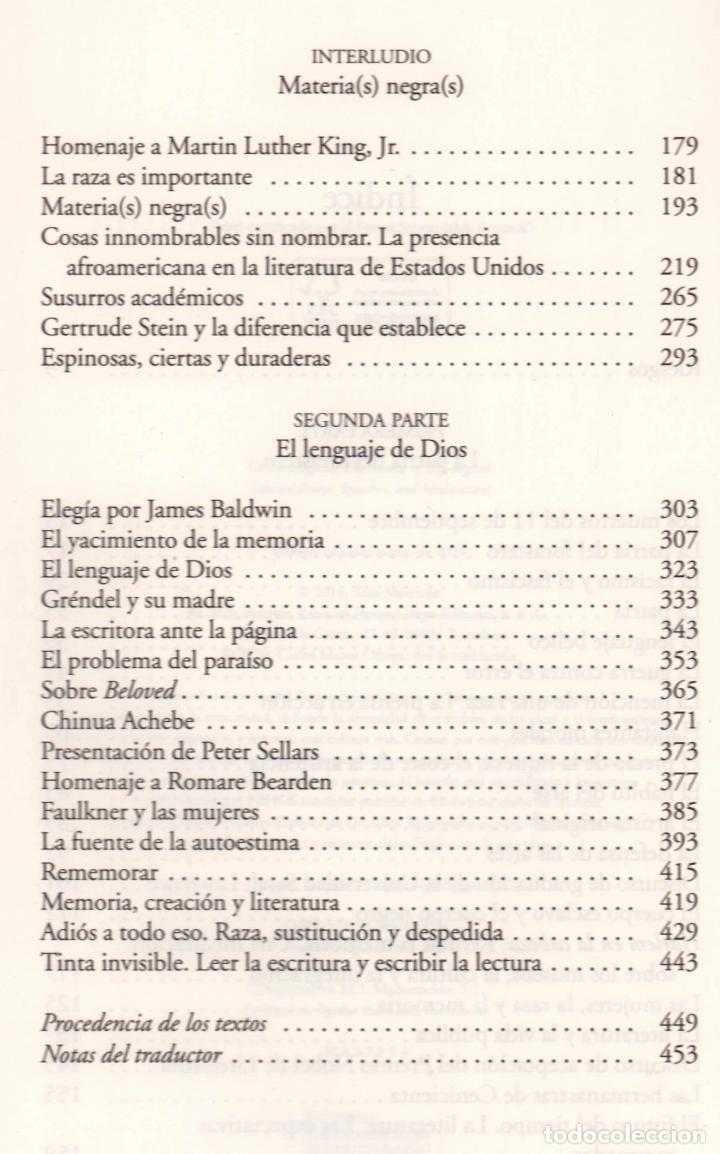 Libros: TONI MORRISON LA FUENTE DE LA AUTOESTIMA ENSAYOS DISCURSOS MEDITACIONES E LUMEN 2020 1ª EDICIÓN FAJA - Foto 9 - 213572496