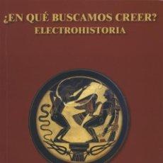 Libros: MARÍA RUIZ. ¿EN QUÉ BUSCAMOS CREER? ED.ARRÁEZ EDITORES. MOJÁCAR. 2020. PP. 172. Lote 215245008