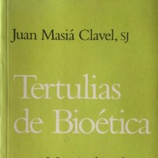 Libros: TERTULIAS DE BIOÉTICA. NUEVO. REF: AX767. Lote 216478705