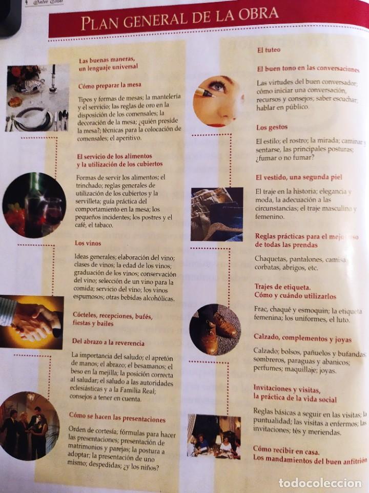 Libros: El libro de oro del saber estar. Guía práctica de las buenas maneras - Foto 2 - 217898415