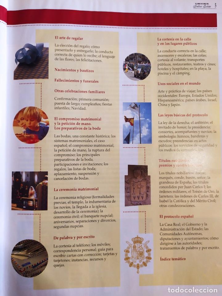 Libros: El libro de oro del saber estar. Guía práctica de las buenas maneras - Foto 3 - 217898415