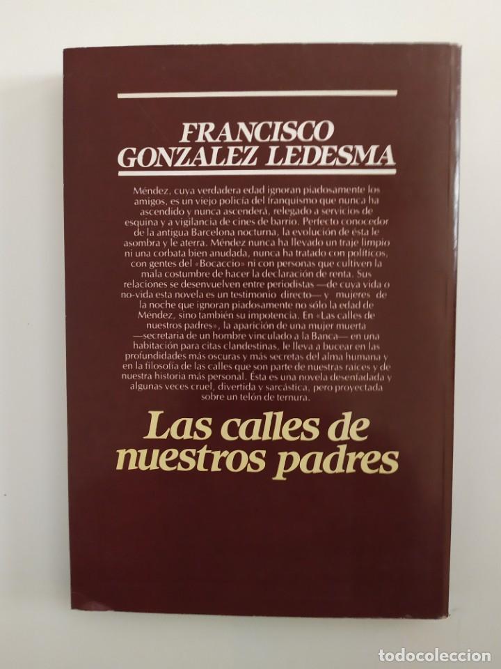 Libros: Las calles de nuestros padres Fco.González Ledesma - Foto 2 - 219230188