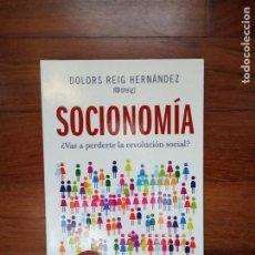 Libros: DOLORS REIG - SOCIONOMÍA. Lote 220644671