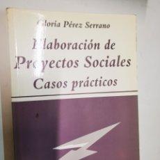 Libros: ELABORACIÓ DE PROYECTOS SOCIALS. Lote 221932847