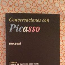 Libros: CONVERSACIONES CON PICASSO - BRASSAÏ (TURNER/FONDO DE CULTURA ECONÓMICA, 2002). Lote 223506696
