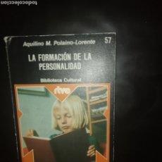 Libros: LA FORMACIÓN DE LA PERSONALIDAD. Lote 224558057