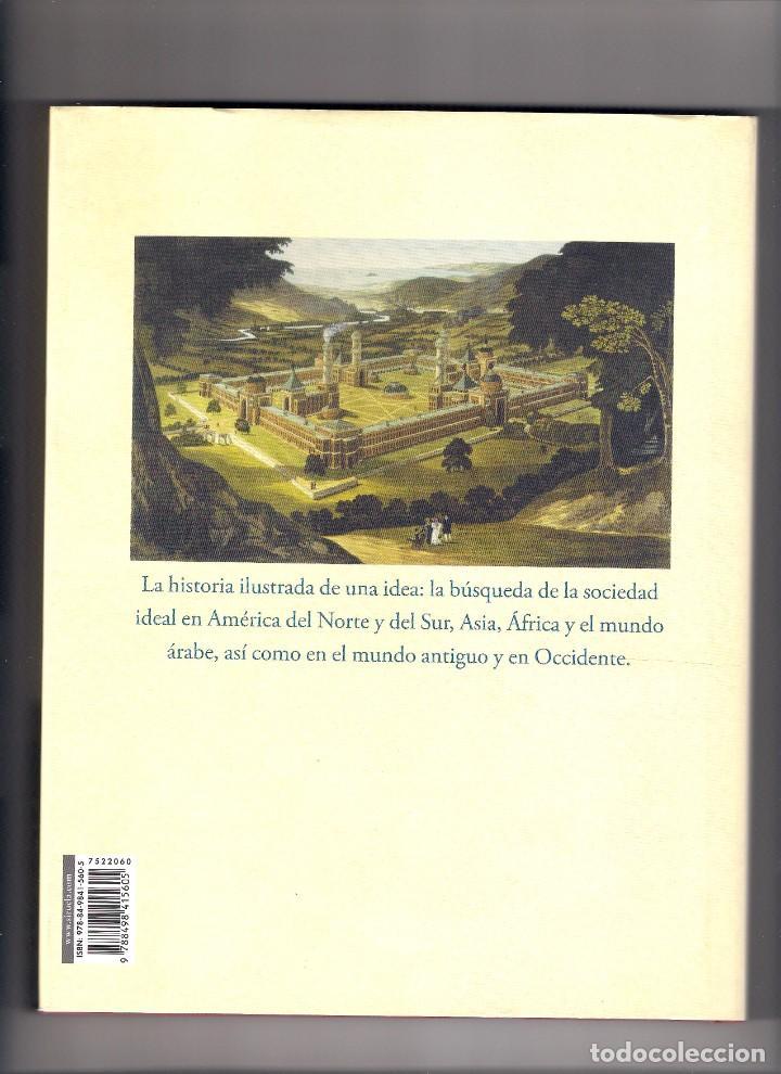 Libros: UTOPÍA, Historia de una idea. Gregory Claeys. Ed. Siruela - Foto 2 - 235906080
