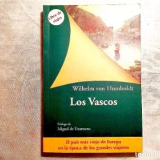 Libros: HUMBOLDT: LOS VASCOS - NUEVO. Lote 247589030