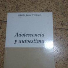 Libros: ADOLESCENCIA I AUTOESTIMA. Lote 252569890