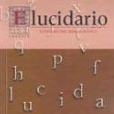 Libros: ELUCIDARIO Nº. 5 . MANUEL CABALLERO VENZALÁ. INSTITUTO DE ESTUDIOS GIENNENSES. Lote 252978700