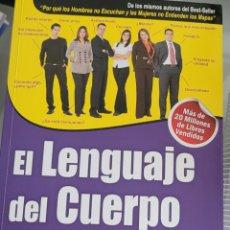 Libros: EL LENGUAJE DEL CUERPO. ALLAN Y BARBARA PEASE.. Lote 257918750
