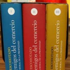 Libros: LOS ENEMIGOS DEL COMERCIO. ANTONIO ESCOHOTADO. PRIMERA EDICIÓN TAPA DURA. Lote 265379809