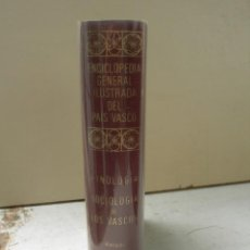 Livres: ETNOLOGÍA Y SOCIOLOGÍA DE LOS VASCOS / BERNARDO ESTORNES LASA. Lote 266336603