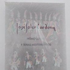Libros: JOSÉ SOLER CARDONA.MONOGRAFÍAS Y TEMAS MEDITERRÁNEOS. COCENTAINA. PRECINTADO Y DESCATALOGADO.. Lote 273923268