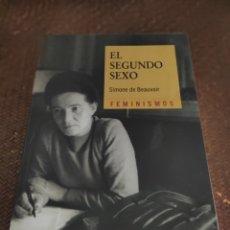 Libros: EL SEGUNDO SEXO SIMONE DE BEAUVOIR FEMINISMOS. Lote 279370143