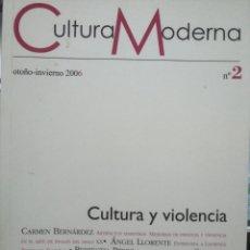 Libros: CULTURA MODERNA Nº2.. Lote 294946068