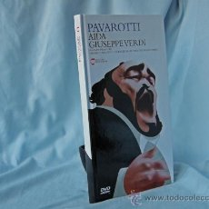 Libros: AIDA - GIUSEPPE VERDI - PAVAROTTI - LIBRETO + 1 DVD *** NUEVO *** . Lote 27995142