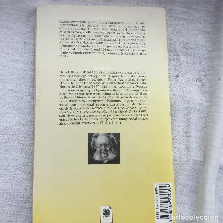 Libros: KENRIK IBSEN. Casa de nines. Proa-Teatre Nacional. - Foto 2 - 221564080